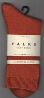 Cashmere Blend Socks - Falke - Burnt Orange  46548/8916